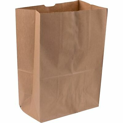 Duro Gusset Fold Top Paper Bags Brown 500 Ct
