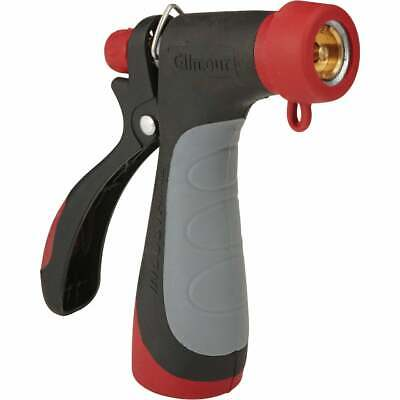 Gilmour Pro Metal 160 Degree Hot Water Pistol Nozzle, Red & Black 855012-1001  -