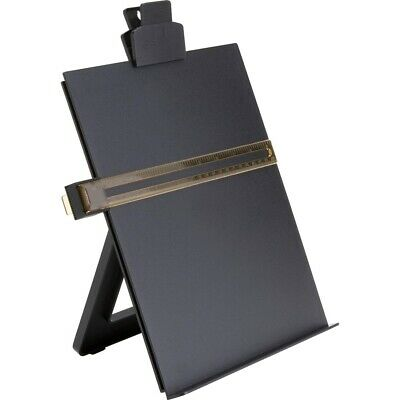 Business Source Easel Copy Holder - 1 Each - Black 38952  - 1 Each