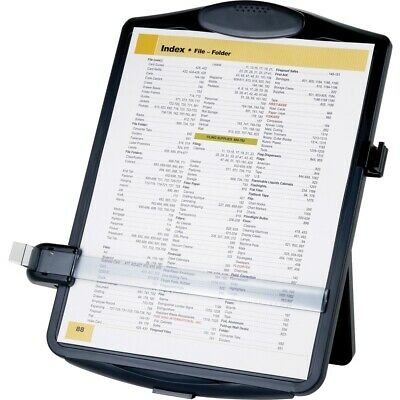 "Business Source Easel Document Holder - 10"" x 2"" x 14"" x - 1 Each - Black 38950"