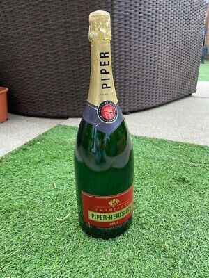 Display Piper Heidsieck Champagne bottle Large