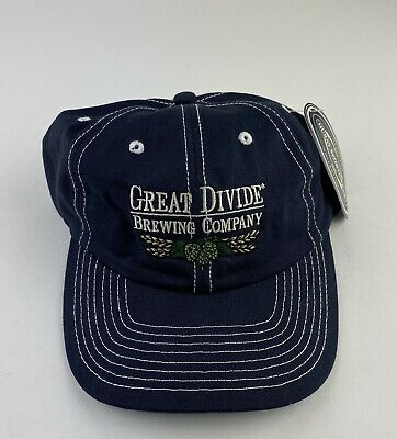 Great Divide Brewing Company Embroidered Baseball Hat Cap Adjustable Embroidered
