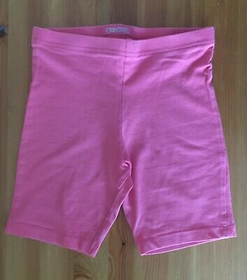 Girls Pink Cycle Shorts - Age 5-6 Years