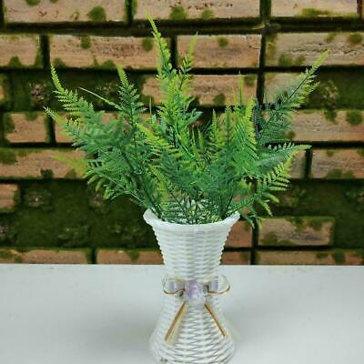 Grass Leaf Bouquet Artificial Silk Flower Fern Plant New Home L6C0 Decor J4A3