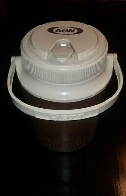 Vintage A&W Thermos Insulated Cooler Water Jug Big Rare GOTT 1502
