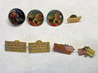 Lot of 8 Waffle House Pins. Great Lot Have a LQQK. Low Buy It Now Price
