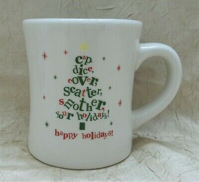 Waffle House 2012 Big Coffee Mug Dice Cover Smother Your Holidays Limited Cup
