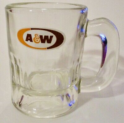 Vintage A & W Root Beer Mug (Miniature) 3.25 Inches Tall