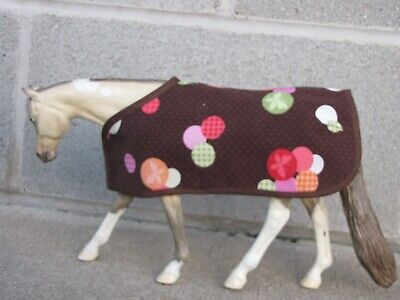 BLANKET tack fits Traditional sized Breyer Peter Stone model horse horses CM