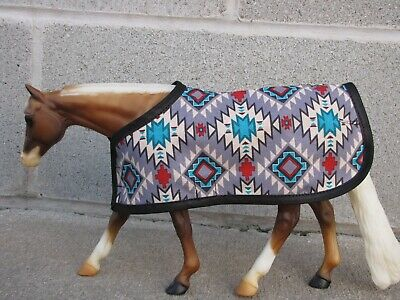 BLANKET tack fit Traditional sized Breyer Peter Stone model horse horses WESTERN