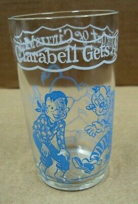 Kagran Vtg 8oz Welch's Juice Jelly Glass HOWDY DOODY Clarabell Gets A Kick CLOWN