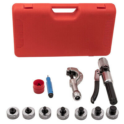 """HVAC Hydraulic Tube Expander Swaging Expanding 7 Lever Tool Kit 5/8"""" 7/8"""" 3/4"""""""