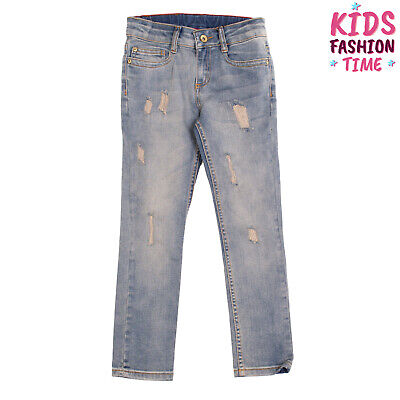 STREET CALLED MADISON Jeans Size 6Y Distressed Style Worn Look Faded