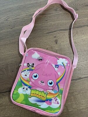 Pink 'Moshi Monsters' School Lunchbox With Adjustable Strap