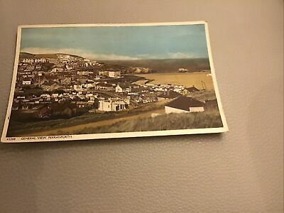 Vintage Post Card General View Perranporth.