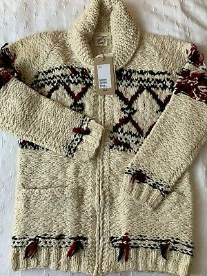 Men's Isabel Marant H&M Wool Zip Up Cardigan Jacket New With Tags Size Small S
