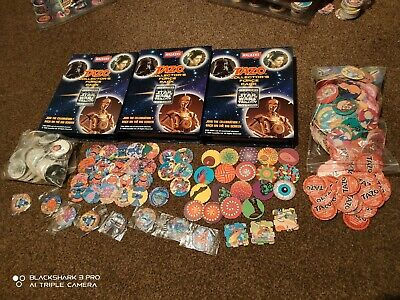 Star wars tazos Complete + hundreds more + Rubix + Sealed Tazos