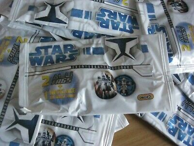 Star Wars  Alli Tags Necklace/Tag  Box Of 5 Sealed Packets