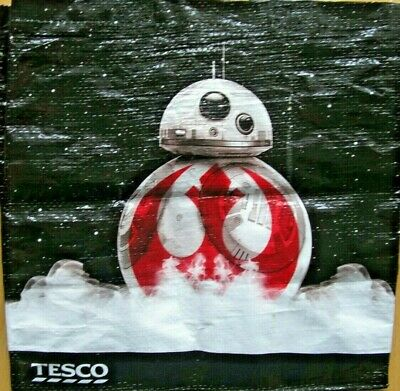 Tesco Star Wars Promotional Shopping Bag The Last Jedi