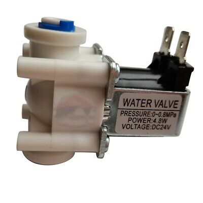 Electric Solenoid Valve Magnetic DC 24V Water Air Inlet Flow Switch 24V Mag U5P7