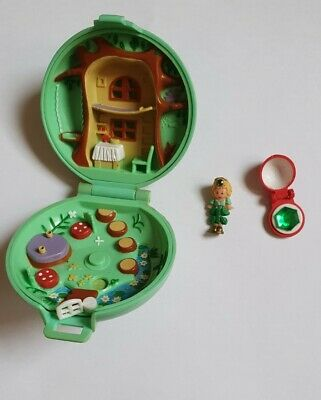 Vintage Polly Pocket Jewelled Forest 1992 Nearly Complete