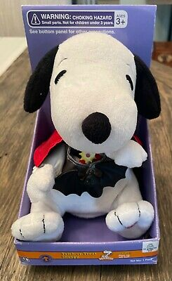 """Peanuts Trick Or Treat Snoopy Dances & Lights To Halloween Music Works in Box 7"""""""