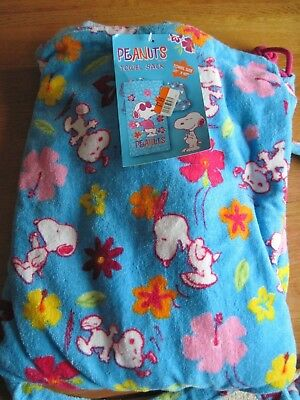 """Snoopy / Peanuts Towel Sack 30"""" X 60""""  New With Tag"""