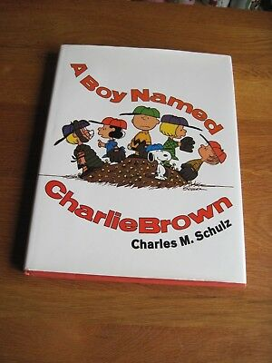 Snoopy / Peanuts  A Boy Named Charlie Brown Hard Cover
