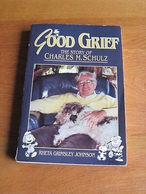 Snoopy / Peanuts  Good Grief Story Of Charles Schulz Parer Back