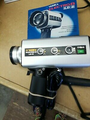 """Yashica Electro 8 Super 8 LD-6 """"Untested as found"""""""