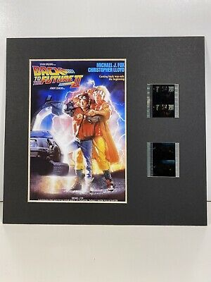 back to the future film cell    mount