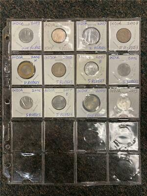 2003-2007 India BU Commemorative Collection 12 Different
