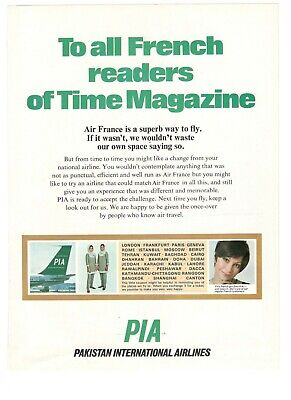 1969 Original Advertising' Advertising Pia Pakistan International
