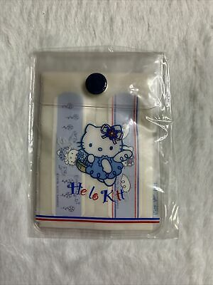 Sanrio Vintage HELLO KITTY French Blue ANGEL BANDAGES Band Aid Trinket Plush