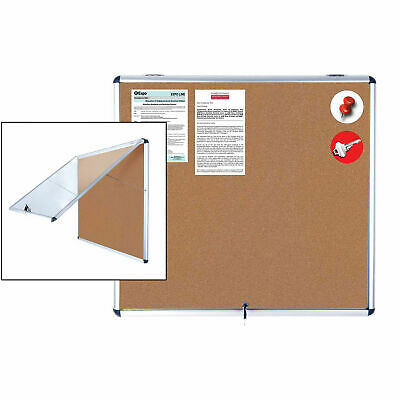 "MasterVision H2O Outdoor Cork Bulletin Enclosed Board, 38""W x 47""H"