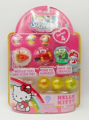 BRAND NEW Sanrio Hello Kitty Squinkies by Blip Toys Series 4 RARE COLLECTIBLE