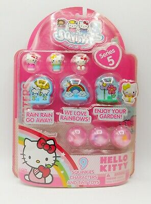 BRAND NEW Sanrio Hello Kitty Squinkies by Blip Toys Series 5 RARE COLLECTIBLE