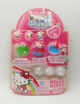 BRAND NEW Sanrio Hello Kitty Squinkies by Blip Toys Series 6 RARE COLLECTIBLE