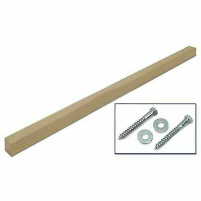 "United Visual Products 4""W x 4""D x 96""H Single Sand Post and Hardware"