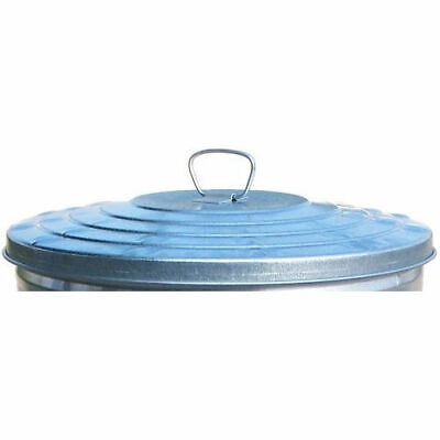 Witt Industries WHD24L Galvanized Garbage Can Lid, 24 Gallon Heavy Duty