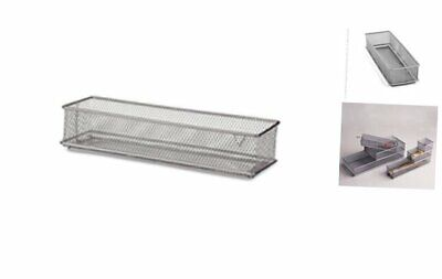 Mesh Drawer Store, Silver, 3 by 9-Inch (120919)