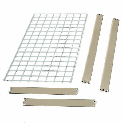 """Bulk Rack Additional Level with Wire Deck, 96""""W x 24""""D, Tan"""