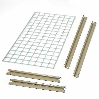 """Additional Level with Wire Deck, For High Capacity Rack, 96""""W x 24""""D"""