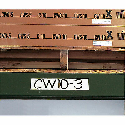 """3"""" x 6"""" Magnetic Write-On Label, 25/Pk"""