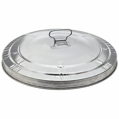 Witt Industries WCD24L Galvanized Garbage Can Lid, 24 Gallon Commercial Duty