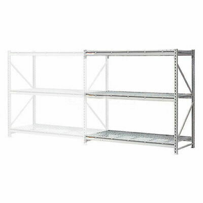 """Extra High Capacity Bulk Rack With Wire Decking, Add-On Unit, 72""""W x 36""""D x"""