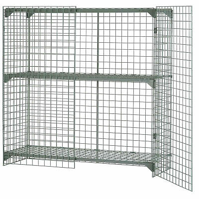 Wire Mesh Security Cage,  48 x 24 x 72