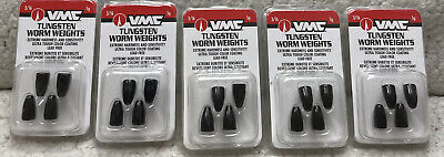 VMC Tungsten Flippin/' Weight Lead Free Bass /& Crappie Fishing Terminal Tackle