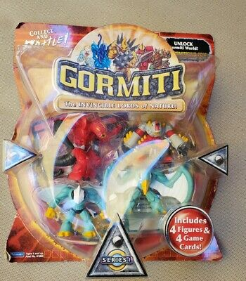 Gormiti The Invincible Lords of Nature Chiffres Sélection 4 ans marque Neuf Scellé