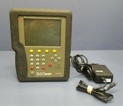 Battery Replacement for trilithic 860 DSPi Cable Meter 860DSP 860DSP Analyzer 90047000